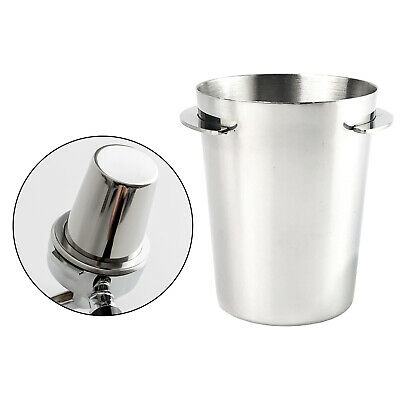 $12.51 • Buy Durable Coffee Dosing Cup Sniffing Mug For 51mm Espresso Machine Silver