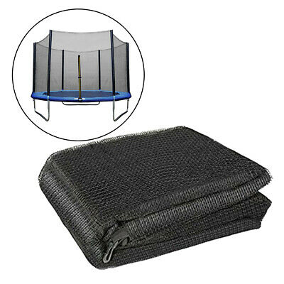 £71.64 • Buy Solid Trampoline Enclosure Net PE 15' 10 Pole Fence Round Trampolines Protector