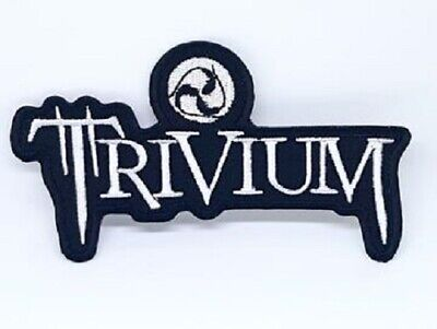 £1.85 • Buy Trivium Heavy Metal Punk Rock Iron Sew On Embroidered Patch