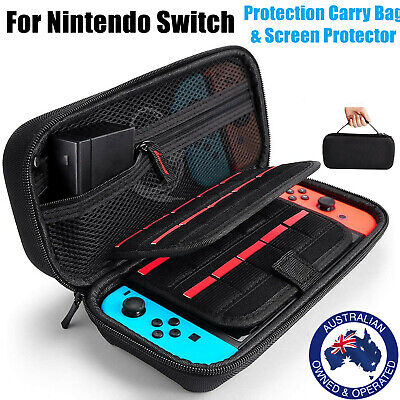 AU13.99 • Buy Carry Case Bag Storage Heavy Duty Shockproof Screen Cover For Nintendo Switch
