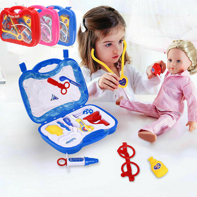 £6.99 • Buy 13Pcs/Set Kids Childrens Role Play Doctor Nurses Toy Medical Kit Gift With Case