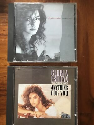 £4 • Buy 2x Gloria Estefan Cd Albums Anything For You - Cuts Both Ways Free Shipping