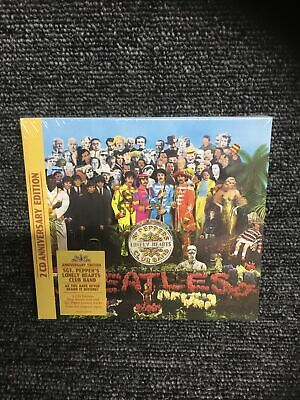 £10.95 • Buy The Beatles - Sgt. Pepper's Lonely Hearts Club Band (2CD)  50th Anniversary  NEW