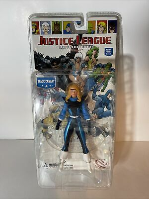 AU36.72 • Buy NEW DC JUSTICE LEAGUE INTERNATIONAL BLACK CANARY SERIES 1 JLA ACTION FIGURE Toy