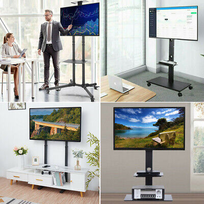 AU73.96 • Buy 6-Style Floor Mount TV Stand Shelf Bracket Mobile For 32-70  Samsung Sony LG TCL