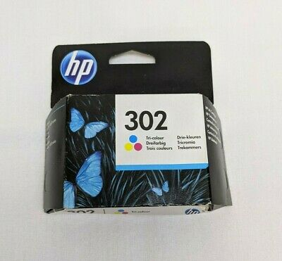 Original HP 302 Tri Colour Ink Cartridges For DeskJet 1110 Printer • 18.99£