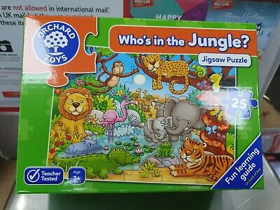 £3 • Buy Orchard Toys Who's In The Jungle 25 Piece Jigsaw 3+