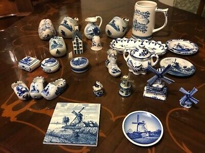 £4.99 • Buy Beautiful Delft Pottery Items In Great Condition - All Individually Priced
