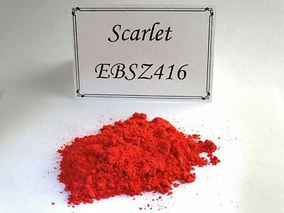 £1.99 • Buy Scarlet Red Mica Colour Powder /  Cosmetic / Pigment / Soap / Bath Bombs