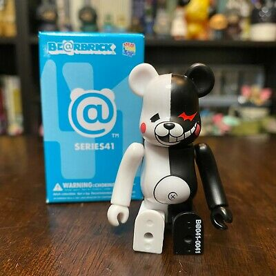 $179.99 • Buy 100% Bearbrick Series 41 - Secret Danganronpa Monokuma Bear - Medicom (2021)