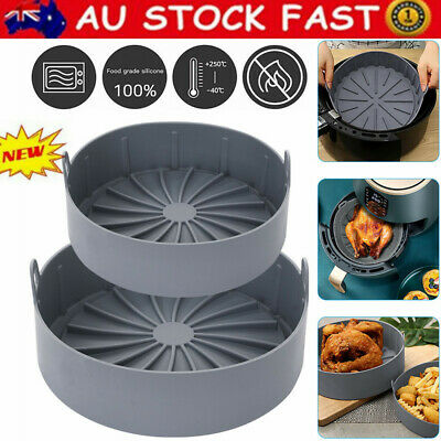 AU28.62 • Buy Multifunctional Air Fryer Silicone Pot Air Fryers Oven Accessories Baking Tray