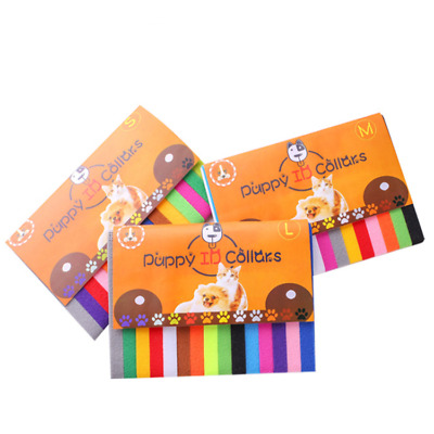 £3.95 • Buy (CC096)  Kitten Puppy Newborn Whelping ID Collars Pack Of 15 Different Colours