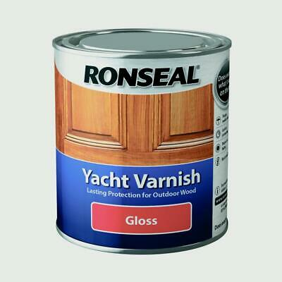 £26.39 • Buy Ronseal Yacht Varnish  Exterior Long Lasting - ALL SIZES