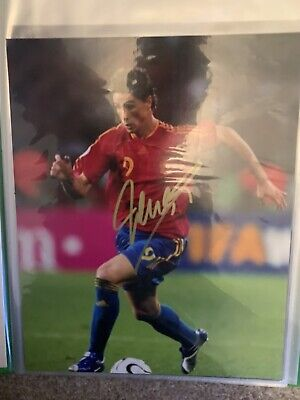 £100 • Buy Fernando Torres Liverpool/ Spain Signed Autographed Photo  8x10  Inch COA