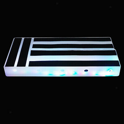 $ CDN72.01 • Buy Guitar Effect Pedal Board Built-in LED For Guitar Bass Hide Power Supply For