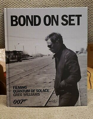 $22.89 • Buy James Bond On Set Filming Quantum Of Solace Daniel Craig 007 Greg Williams