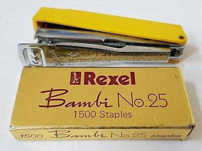 05025 Rexel Staples No25 Bambi Pack of 5000