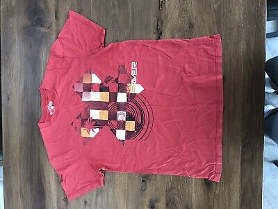 £10 • Buy Retro Quicksilver T-shirt Red In Large