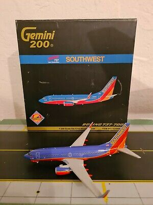 $299.49 • Buy Gemini 200 Southwest Boeing 737-700 2000th 737 1:200 G2SWA005