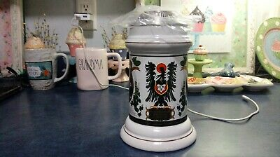 $ CDN15.72 • Buy 1995 House Of Heileman Lidded  Beer Stein Old Style  Awesome Shape