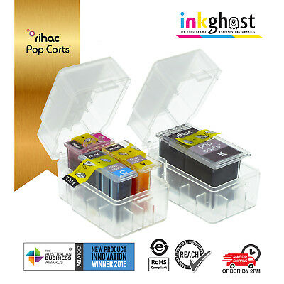 AU32 • Buy Rihac Pop Carts For Canon PG660 CL661 TR7060 Refill Ink Insert For Cartridge