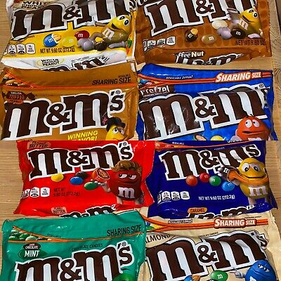 $12.41 • Buy USA Imported M&MS Big Sharing Size Candy Chocolate - Choose Your Flavour RARE