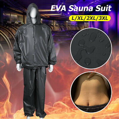 AU20.16 • Buy Sauna Sweat Suit For Max Weight Loss Work Out Boxing Gym Slimming Body Men