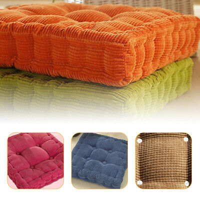 AU23.16 • Buy Home Office Fabric Tatami Square Easy Rise Chair Cushion Pad Thickened