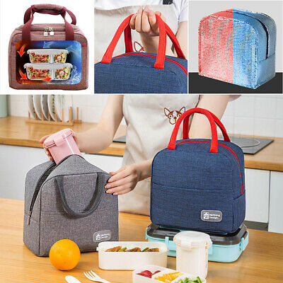 AU14.37 • Buy Insulated Thermal Cooler Lunch Box Portable Tote Picnic Storage Bag Case
