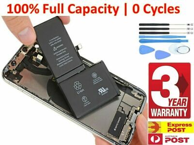 AU18.88 • Buy IPhone X XR XS Max 6 6s 8 7 Plus Battery Replacement Kit High Capacity + Tools