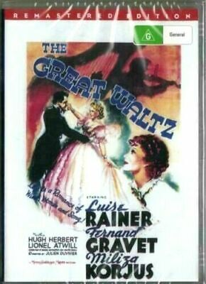 £5.43 • Buy The Great Waltz DVD Luise Rainer Brand New And Sealed Plays Worldwide NTSC 0