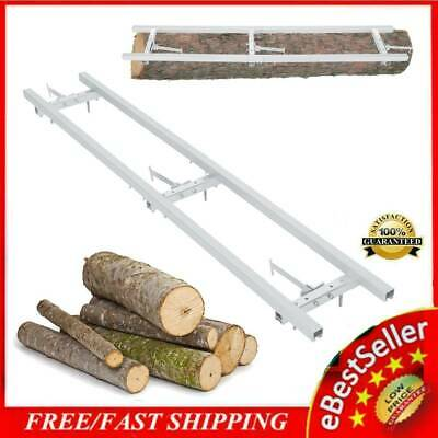 £79.81 • Buy Portable Chainsaw Mill Attachment Lumber Milling Guide Bar Log Planking 1.5m