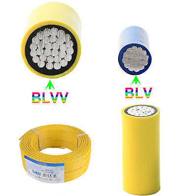 £8.65 • Buy Aluminum Core Electrical Cable 70mm² - 150mm² Electronic Wire PVC Insulation