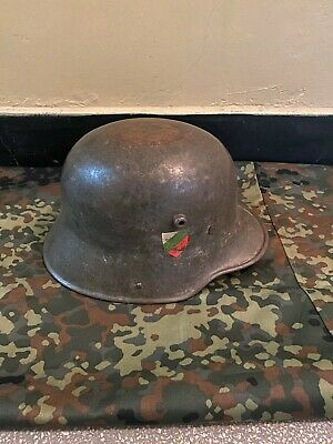 $1200 • Buy WWI IMPERIAL GERMAN M16 HELMET ORIGINAL WWI Produced For The Bulgarian Army