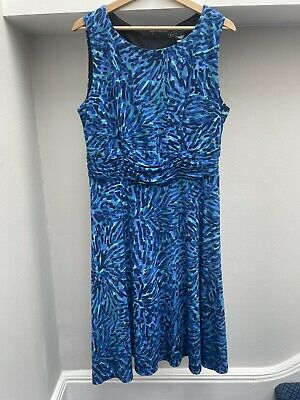 £18 • Buy Jessica Howard Ruched Waist Fit And Flare Summer Dress Size 14