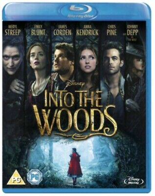 £2.99 • Buy Into The Woods Blu-ray New & Sealed 8717418454722