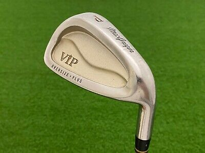 $29.99 • Buy MacGregor Golf VIP OVERSIZE PLUS PITCHING WEDGE Right Steel Precision Lite 5.5 R