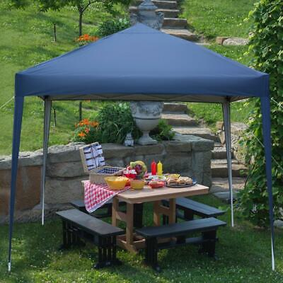 £55.95 • Buy New 3x3m Waterproof Outdoor Pop Up Gazebo Marquee Canopy Party Wedding Tent Blue