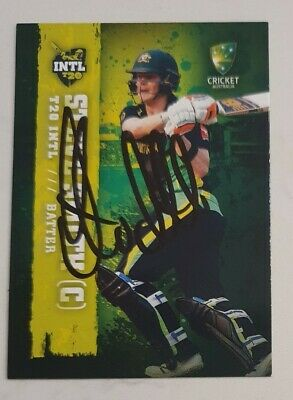 AU40 • Buy STEVE SMITH CRICKET SIGNED IN PERSON RARE Tap N Play BBL CARD GENUINE