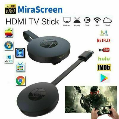 £8.13 • Buy HD HDMI TV Buddy Caster Stick Receiver Wireless Display Screen Mirroring Adapter