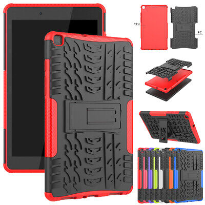 AU18.19 • Buy Heavy Duty Shockproof Rubber Hard Stand Case Cover For Samsung Galaxy Tablets