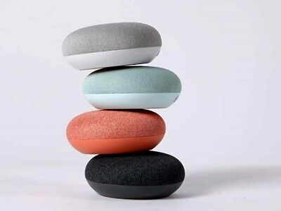 AU34.24 • Buy Google Home Mini 1st Gen Smart Speaker - Charcoal / Chalk / Coral / Aqua