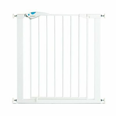 £43.99 • Buy Lindam Easy Fit Plus Deluxe Pressure Fit Safety Gate - 76-82 Cm, White