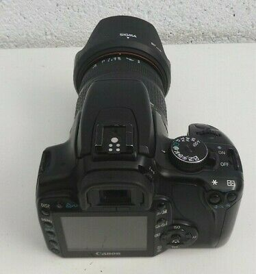 £110 • Buy Canon EOS 400D DSLR Camera With  28-200mm Lens