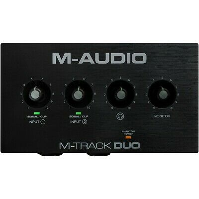 $69 • Buy M-Audio M-Track Duo 2-Channel USB Audio Interface
