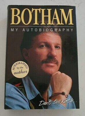 AU68 • Buy Rare Sir Ian Botham Signed In Person Autobiography Hard Cover Book