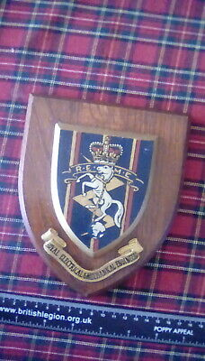 Royal Electrical & Mechanical Engineers Reme - Regimental Mess Wall Plaque • 20£