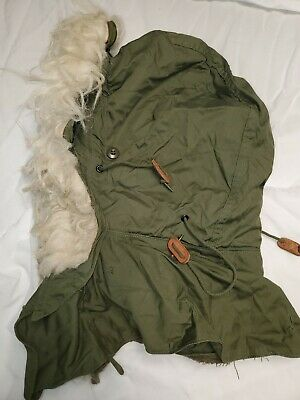$17 • Buy HOOD, EXTREME COLD WEATHER, W/ SYNTHETIC FUR RUFF OG-107 For M-65 & M-51 Parkas