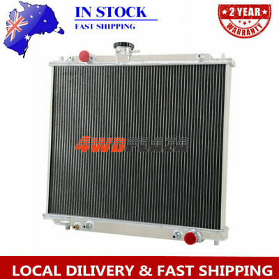 AU199 • Buy 3row Aluminum Alloy Radiator For Mitsubishi Montero Pajero Nj/nk Nl 2.8l 4m40