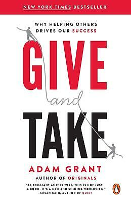 AU27.02 • Buy Give And Take ~ Adam Grant ~  9780143124986